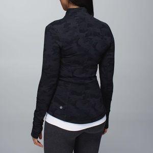 Black camo lululemon jacket